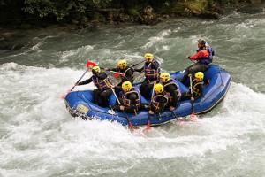 rafting Savoie macot