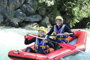 Canoe raft - Hot Dog en Savoie
