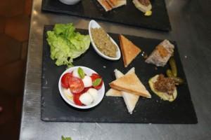 entree degustation menu restaurant macot