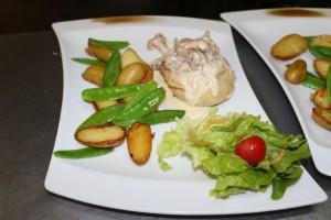supreme de poulet menu restaurant macot